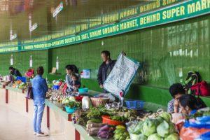 Organic Market Sikkim Gangtok