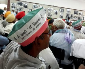 Farmer Leader at the meeting. (Photo: Nirmesh Singh/ANN)