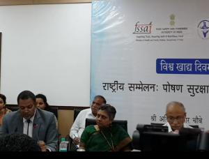Dr Hameed Nuru, India Director, UN's World Food Programme ( extreme left)